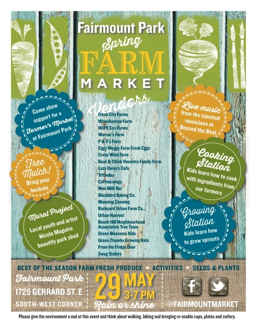 Fairmount Farmer's Market May 29