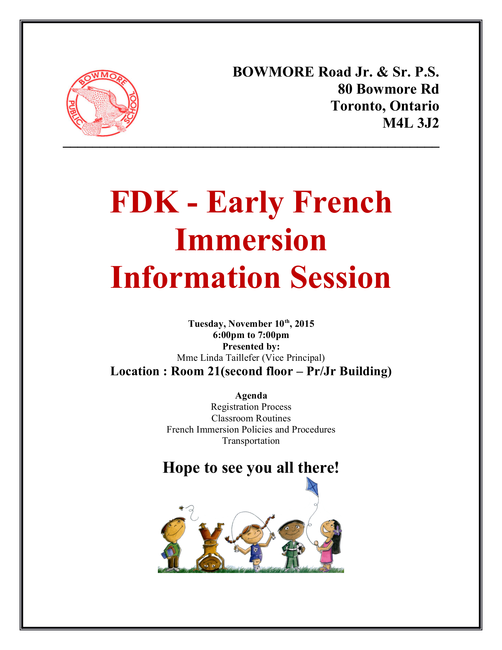 how to become a volunteer at french immersion school