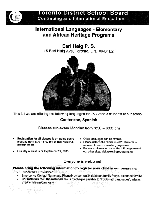 TDSB-language-classes