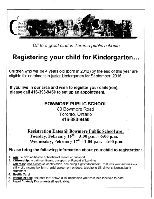 Kindergarten-Registration-Information