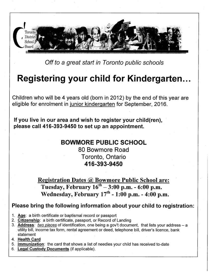 Kindergarten-Registration-Information