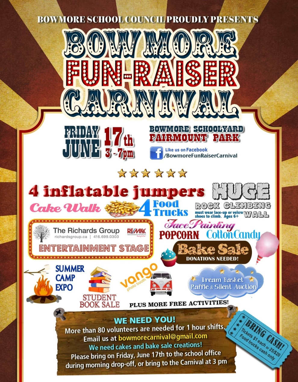 Bowmore Carnival 2016 events