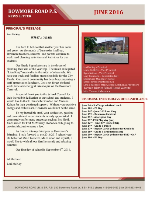 Download the June newsletter by clicking on this image.