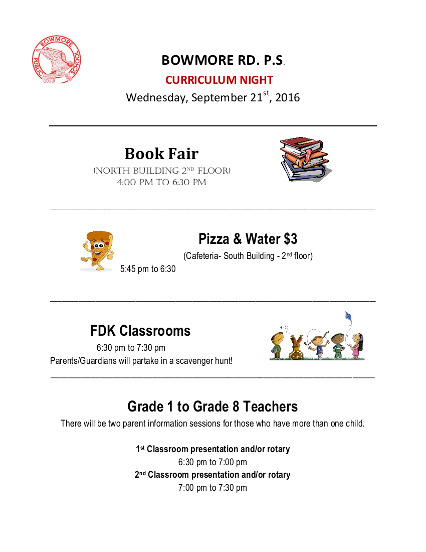 curriculum-night