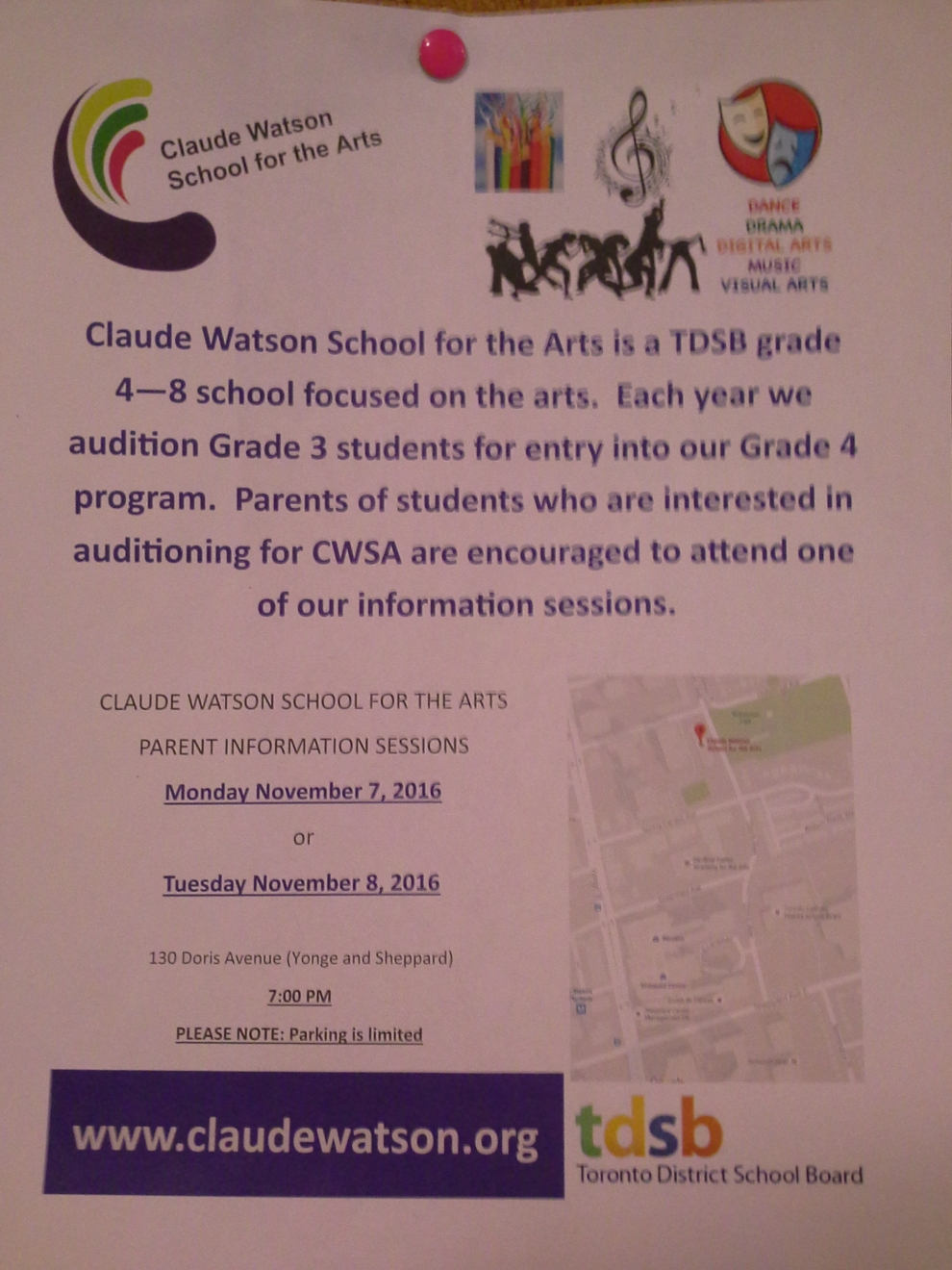 Claude Watson School for the Arts