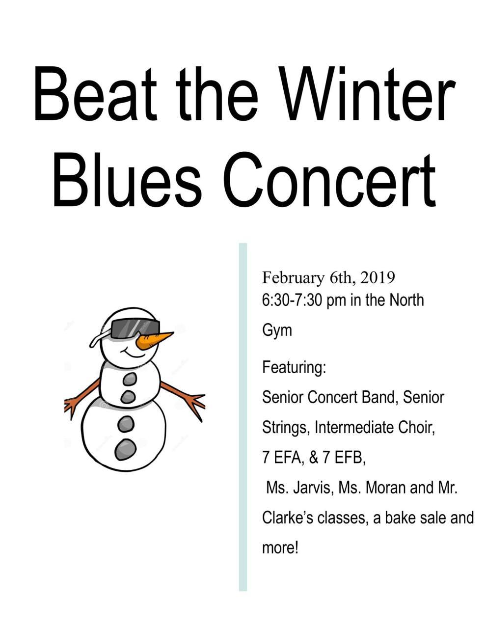 winter blues concert