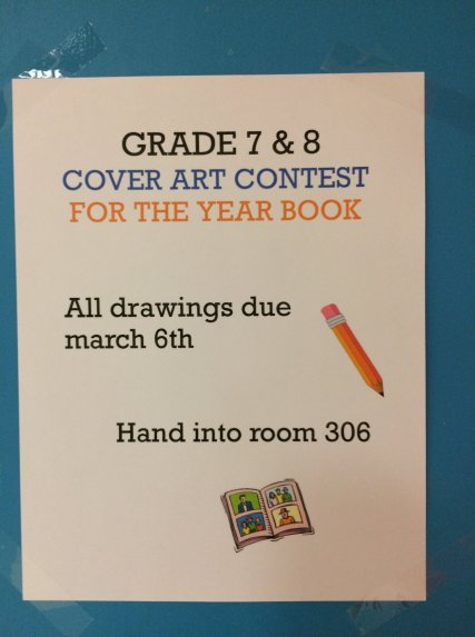 yearbook art contest