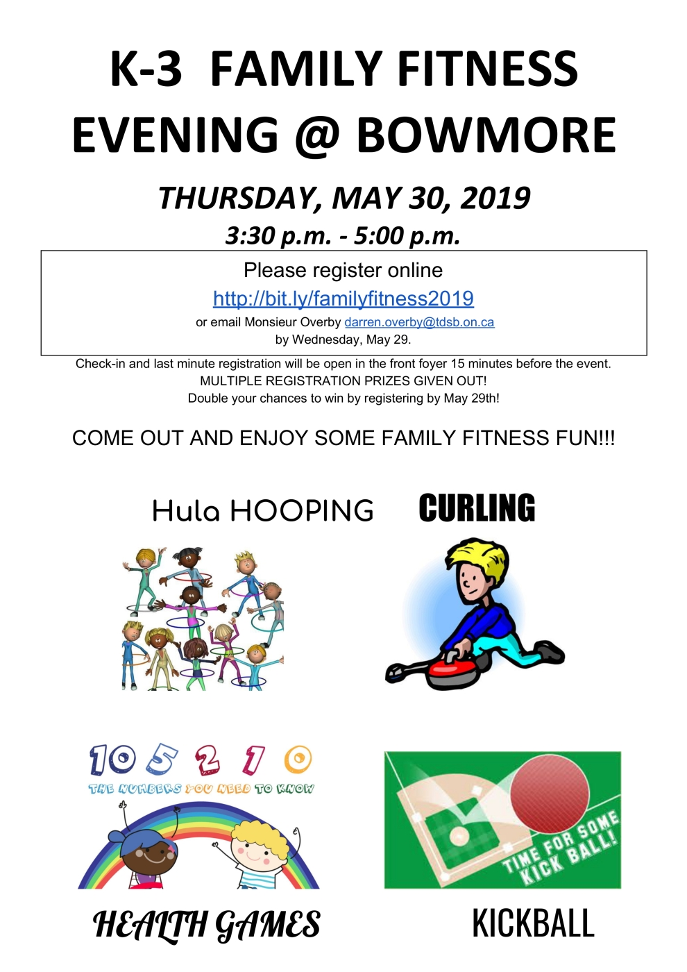 MAY 2019 Family Fitness Poster